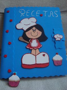 imagenes dedibujos de cocineras - Buscar con Google Planners, Puppet Crafts, Pastry Art, All Craft, Puppets, Coasters, Google, Cher, Cooking