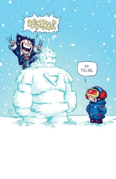 Marvel Babies from Skottie Young