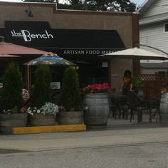 If you're in Penticton you have to visit  'The Bench.'. Breakfast and lunch. FAB coffee. Foodie market. Love!