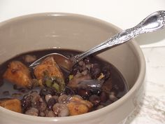 Mayan Stew - a vegetarian stew with sweet potatoes, chilies and chocolate.