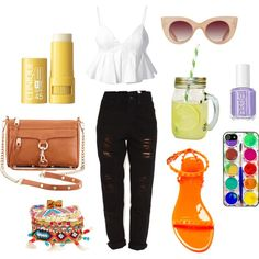 A fashion look from May 2014 featuring open-back shirts, distressed jeans and flats sandals. Browse and shop related looks. Open Back Shirt, Jeans And Flats, Distressed Jeans, Barcelona, Fashion Looks, Polyvore, Shopping, Ripped Denim Jeans, Barcelona Spain