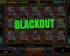 BLACKOUT (BET X1 - TOTAL BET 500 - WIN 9000)