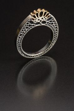 Ring...filigree......pinned by ♥ wootandhammy.com, thoughtful jewelry.