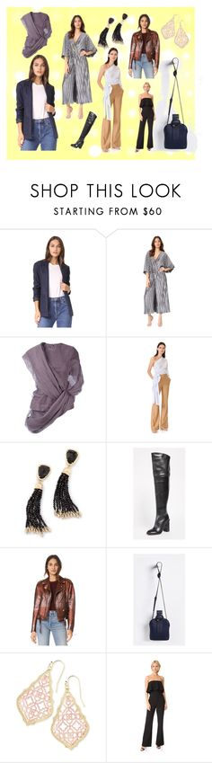 """""""Casual Style"""" by justinallison ❤ liked on Polyvore featuring A.P.C., Stevie May, Rick Owens, Jonathan Simkhai, Kendra Scott, Sigerson Morrison, Adam Selman, Parisa Wang and Likely"""