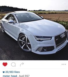 Audi RS 7 Yes please