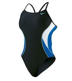 Nike Swim Team Color Block Cut Out Tank