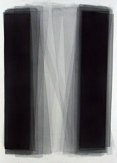 Black Watercolors by Joachim Bandau 2005 152 x 101 cm