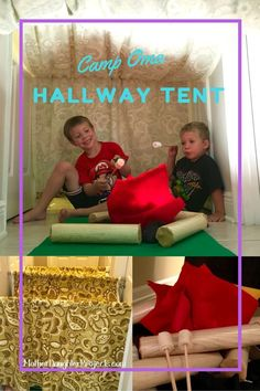 How to Make a Hallway Play Tent Kids Will Love