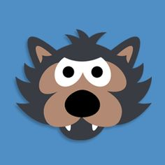 Printable Tasmanian Devil Mask
