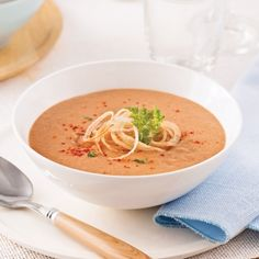 Potage aux lentilles - Entrées et soupes - Recettes 5-15 - Recettes express 5/15 - Pratico Pratique Daycare Menu, Fast Metabolism Diet, Lentils, Cheeseburger Chowder, Tofu, Family Meals, Ramen, Entrees, Meal Planning