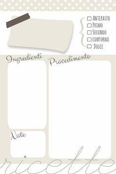 creativebox: DIY: Ricettario fai da te