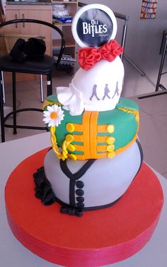 THE BEATLES - OLE BITLES - INSPIRED - THIS IS A INSPIRATION CAKE FROM OUR NEXT FLAMENCO SHOW, CELEBRATING ONE OF THE MOST AMAZING BANDS EVER! THE BEATLES!