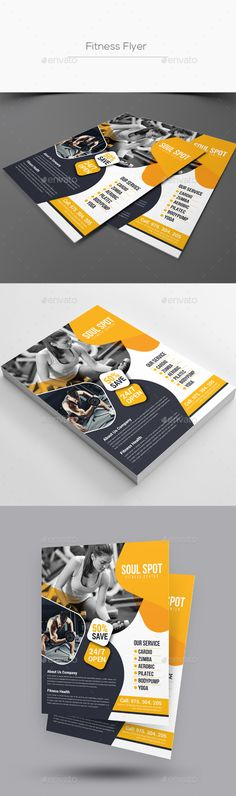 Fitness Flyer Download, Fully and Print - fitness flyer template