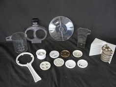 20 Pieces of Simac Pastamatic 700 Accessories Dies Wrench Lid Cups #Simac