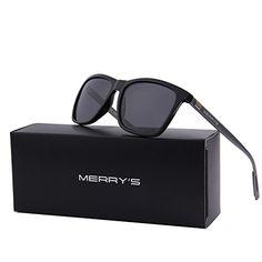 17b613db84 MERRY S Unisex Polarized Aluminum Sunglasses Vintage Sun Glasses For  Men Women S8286 Mens Glasses
