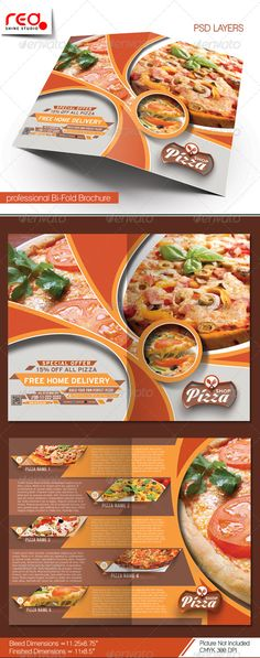 SPECIFICATION Bi-Fold Brochure Template is 8.5 by 11 in (8.75 in by 11.25 in with bleeds) and is ready for print, because its in C