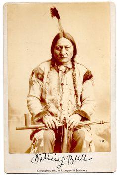 Sitting Bull, Sioux Chief 1884