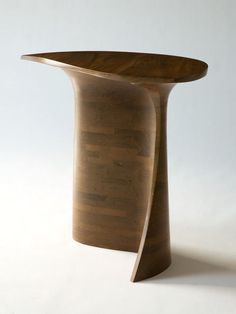 Unique hall table, 1965, by Wendell Castle