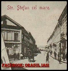 "Strada "" Stefan cel Mare "", 1900, Iași, România"
