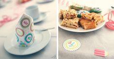 Schöne Einschulungsdeko für Mädchen gibt es bei uns im Shop Snacks, Party, Cookies, Breakfast, Desserts, Food, School Kids, Amazing, Crack Crackers
