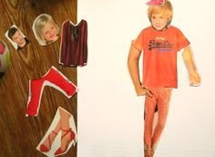 Découpage et collage parties du corps dans catalogues pour fabriquer un bonhomme Activité enfant découpage, stylisme, fabriquer un bonhomme