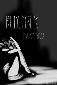This song is so amazing it makes me realize that i don't have to be ashamed of my scars and i shouldn't forget the stories they hold its beautiful
