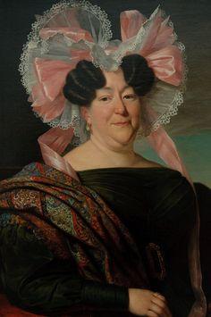 Jan Adam Kruseman (1804-1862) — Portrait of a Lady, 1829 (680×1024)