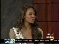 Ms. USA Crystle Stewart  & Leeann Tweeden visit NBC 5 11.14