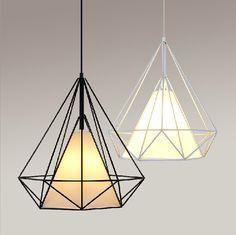 Image result for diamond lamp pendant