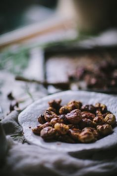 Roast Chestnuts With Butter, Rosemary, & Honey
