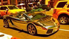 Chrome Lamborghini Gallardo - Park Ave @ 29th Street, NYC