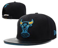 NBA Chicago Bulls Hats Strapback New Era 9FIFTY Hats Black 864! Only   8.90USD Nba 3f939e4170d