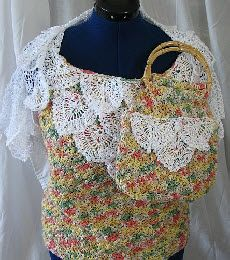 donnascrochetdesigns.com morefree peppercorn-top-purse-lace-shrug-free-crochet-pattern.html