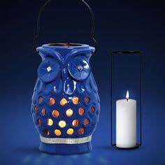 Linda luminária para quem adora corujas e quer deixar a casa com um visual totalmente diferenciado.