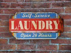 """Résultat de recherche d'images pour """"plaque en metal laundry"""""""