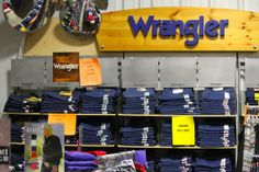 Wrangler jeans are so popular in Oklahoma