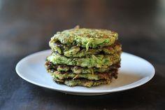 Zucchini Pancakes- crispy and delicious
