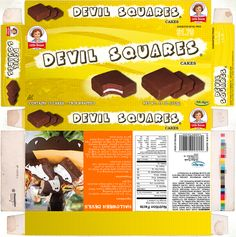 Little Debbie Snack Cakes | Little Debbie snack cakes package redesign for graphic design course .