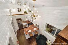 The 34' Custom Loft Edition Tiny House on Wheels by Mint Tiny Homes