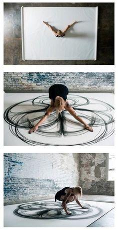 Yoga, Dance and Art #yoga #art #dance