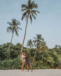Let the moon and the trees to be your settings for this beautiful shot at Adang Island Resort, Koh Adang Thailand