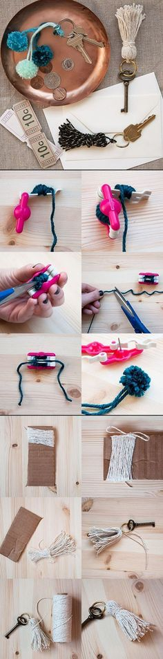 Beautiful Key Pendant | DIY & Crafts Tutorials