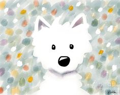 watercolor westies - Google Search