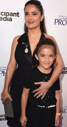 It's been quite a while since we've seen Salma's daughter, Valentina Pinault, and we're shocked by how much she's grown.