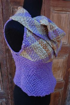 Lilac woolen sleeveless sweater by Ullvuna on Etsy, $120.00