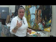 Studio 120: Painter Beck lane talks about the three rules of painting, technique, fear and other stuff....   (sorry about the sound, had my space heater going)    For info on Beck Lane, pics and more visit: http://www.facebook.com/BeckatReBar?ref=stream AND visit Beck's blog: http://becklaneartist2013.blogspot.com/