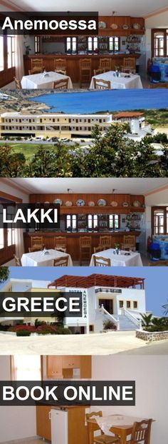 Hotel Anemoessa in Lakki, Greece. For more information, photos, reviews and best prices please follow the link. #Greece #Lakki #Anemoessa #hotel #travel #vacation