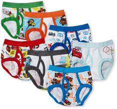 Amazon.com: Handcraft Little Boys' Disney Cars 7 Pack Brief, Multi, 4T: Briefs Underwear: Clothing | @giftryapp