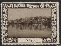Vigo (Pontevedra) : [Viñeta con imagen reflejada en el agua de la ciudad de Vigo] / [fotógrafo, Luis Casado Fernández]. http://aleph.csic.es/F?func=find-c&ccl_term=SYS%3D001528843&local_base=MAD01