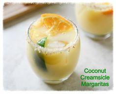 cookiescrumbsandchickens: Coconut Creamsicle Margarita